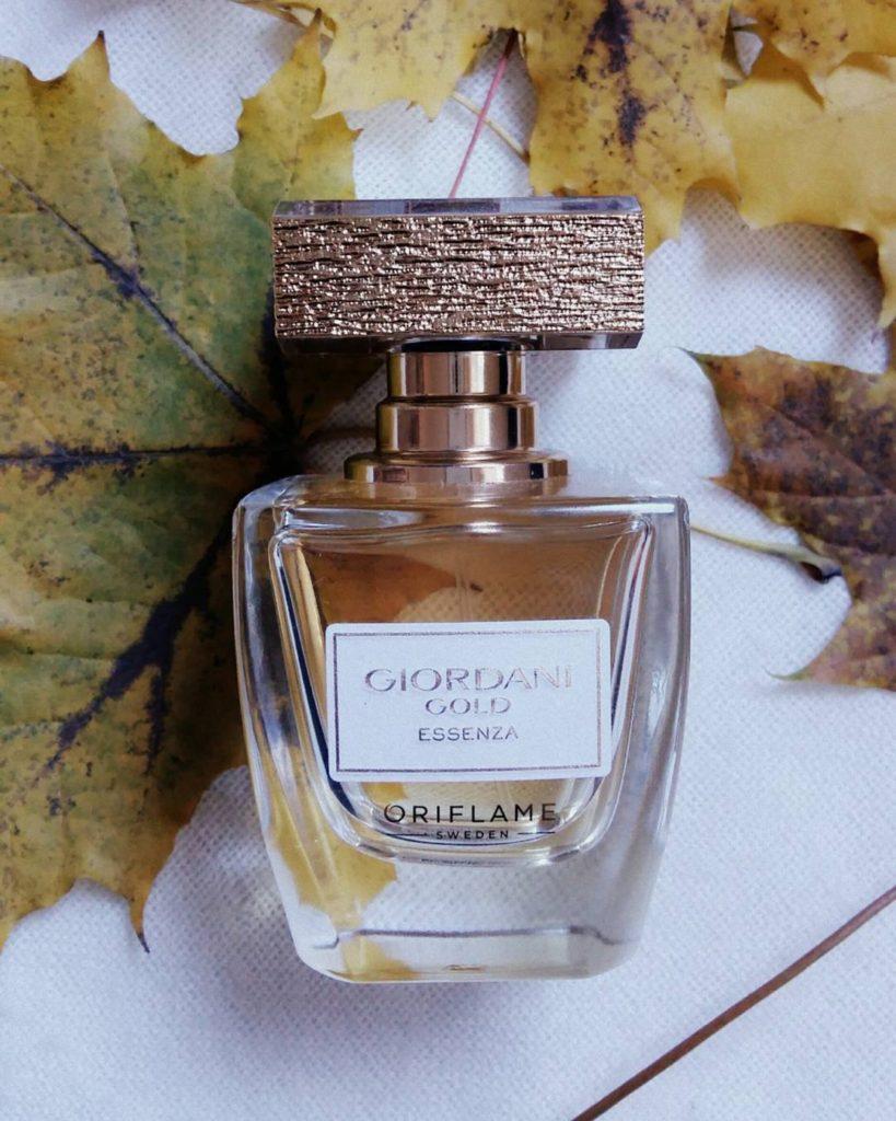 parfum giordani gold essenza oriflame pareri