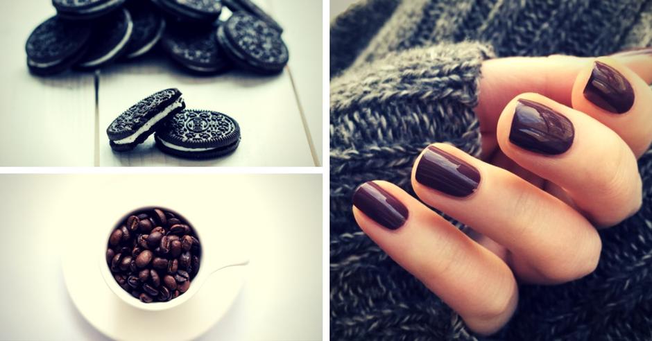 Cafea, Oreo și unghii în culori de toamnă
