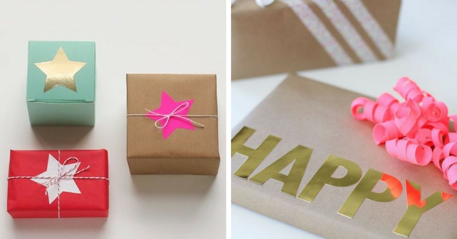 impachetare cadouri stickere de lipit