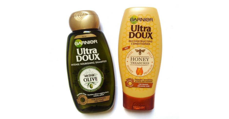 garnier ultra doux șampon și balsam