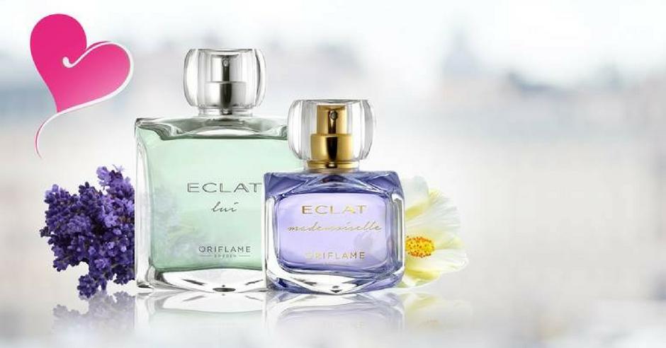 lansare oriflame parfum eclat mademoiselle & eclat lui