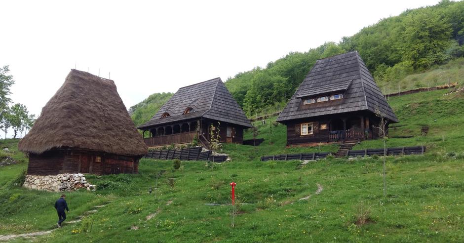 raven's nest transilvania case de lemn