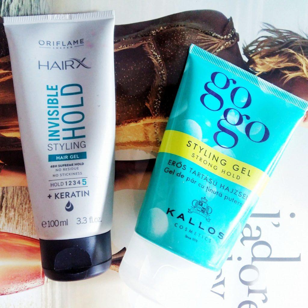 Gel de păr: Kallos sau Oriflame