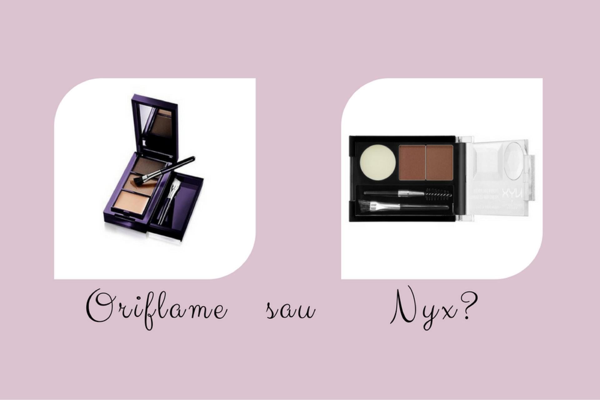 Review produse de sprâncene || Oriflame The ONE sau NYX Eyebrow Cake Powder?