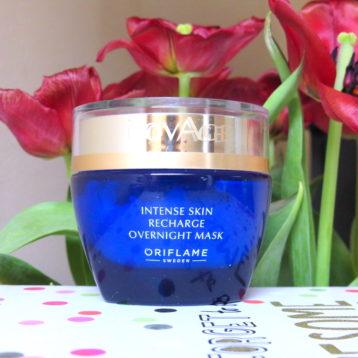 Masca de noapte Novage Oriflame || povestea frumuseții neasemuite