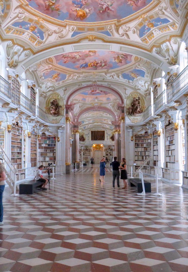Admont Stift, biblioteca pe care orice iubitor de carte o va îndrăgi