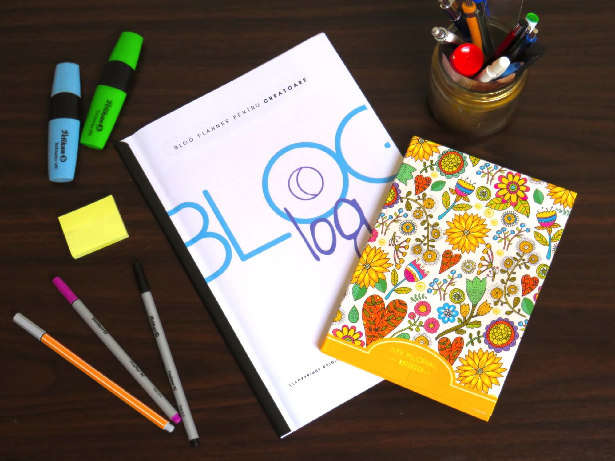 Modalități de organizare: agendă, planner, bullet journal