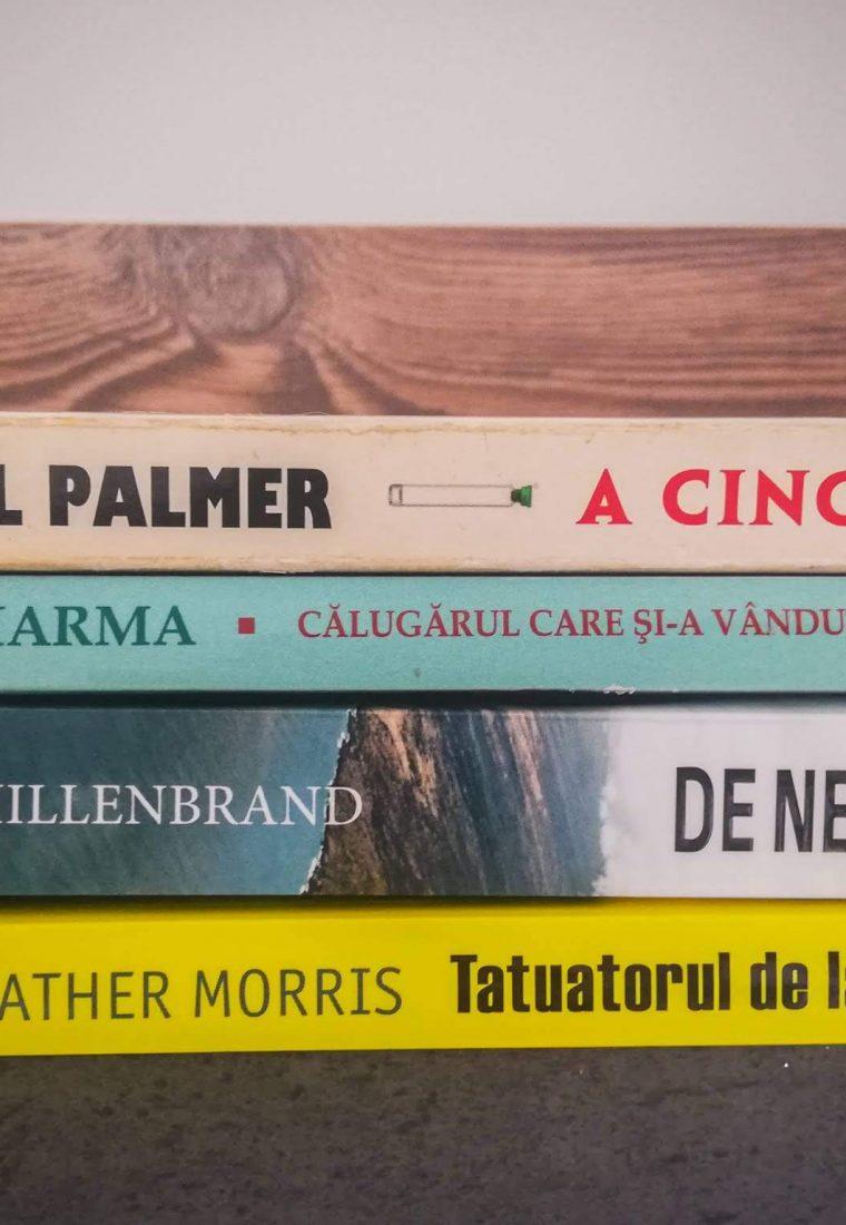 Cele 4 cărți din ianuarie și o mică provocare personală